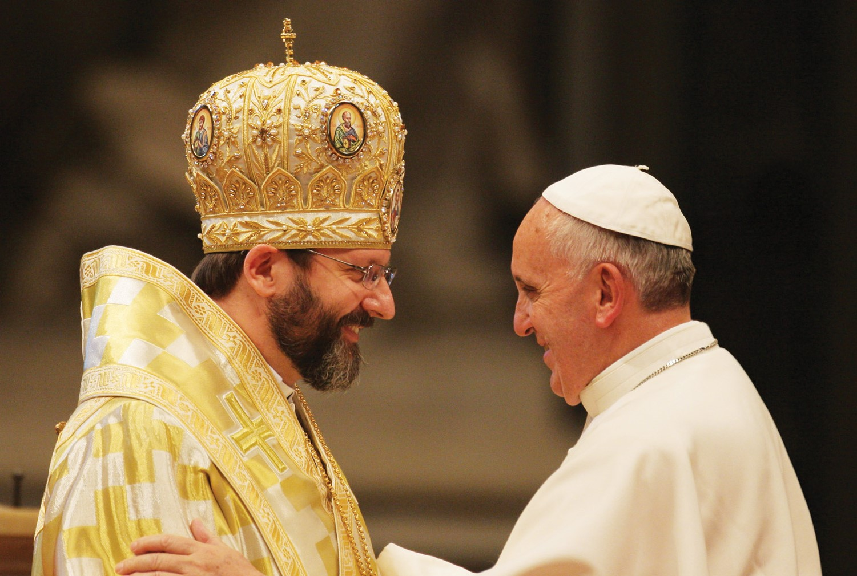 Papa-Francesco-e-Svjatoslav-Shevchuk
