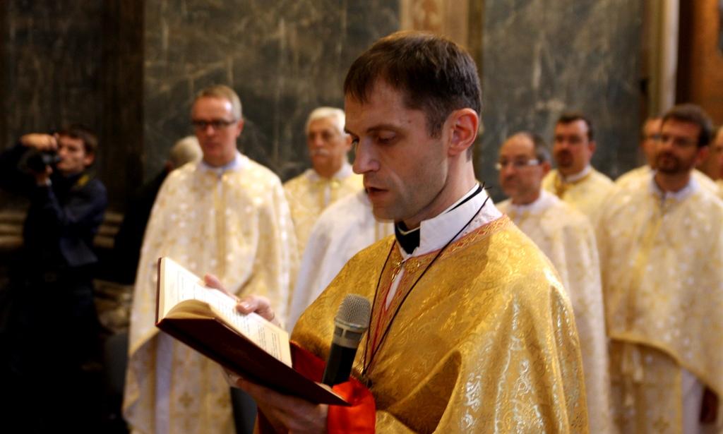 Священичі свячення отця Михайла Станчишина