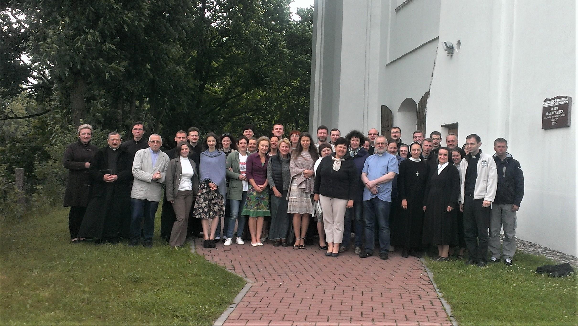 Серії реколекцій в Україні та Білорусі